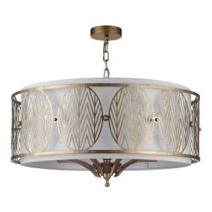 Фото 2 Подвесной светильник H425-PL-07-G в стиле флористика