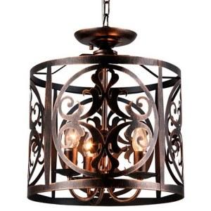 Фото 1 Подвесной светильник H899-03-R в стиле модерн