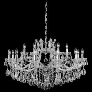 Фото 1 Подвесная люстра HOLLYWOOD SP12+6 CHROME в стиле классический