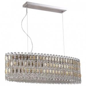 Фото 2 Подвесной светильник LIRICA SP10 L900 CHROME/GOLD-TRANSPARENT в стиле модерн