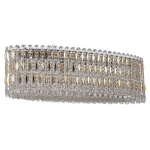Фото 1 Подвесной светильник LIRICA SP10 L900 CHROME/GOLD-TRANSPARENT в стиле модерн