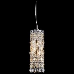 Фото 2 Подвесной светильник LIRICA SP3 CHROME/GOLD-TRANSPARENT в стиле модерн