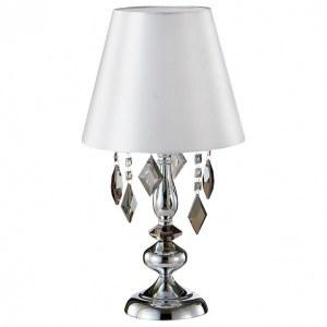 Фото 1 Настольная лампа декоративная MERCEDES LG1 CHROME/SMOKE в стиле классический
