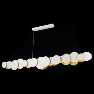Фото 2 Подвесной светильник MOD003PL-L54WG в стиле модерн