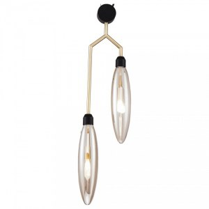 Фото 1 Подвесной светильник MOD012PL-02G в стиле модерн