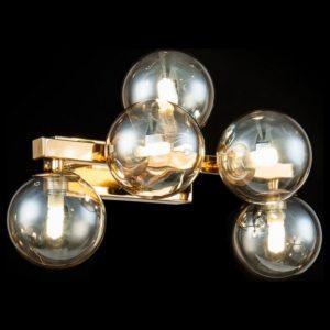 Фото 2 Светильник на штанге MOD547WL-05G в стиле техно