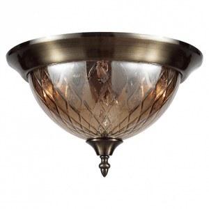 Фото 1 Накладной светильник NUOVO PL3 BRONZE в стиле классический