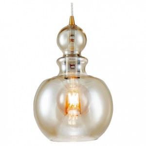 Фото 1 Подвесной светильник P003PL-01BZ в стиле модерн