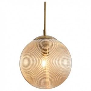 Фото 1 Подвесной светильник P031PL-01BS в стиле лофт