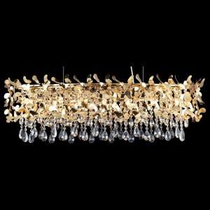 Подвесная люстра Crystal Lux ROMEO SP8 GOLD L1000