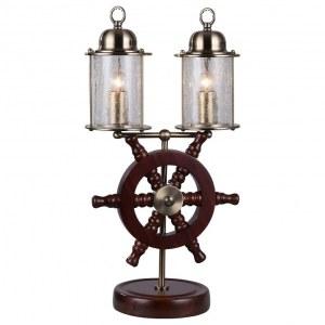 Фото 1 Настольная лампа декоративная SL150.304.02 в стиле модерн