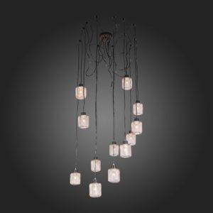 Фото 2 Подвесной светильник SL193.303.12 в стиле техно