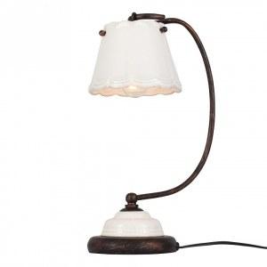 SL259.504.01 Настольная лампа ST-Luce Коричневый, Белый/Белый E14 1*40W