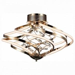 SL924.202.10 Люстра потолочная ST-Luce Золото, Прозрачный/Белый LED 1*72W
