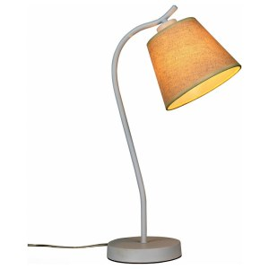 SL964.504.01 Настольная лампа ST-Luce Белый/Бежевый E27 1*40W