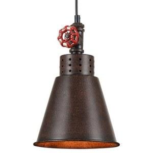 Фото 1 Подвесной светильник T020-01-R в стиле техно