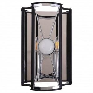 Накладной светильник Crystal Lux TANDEM AP2 CHROME