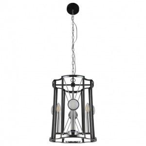 Фото 2 Подвесной светильник TANDEM SP4 D410 CHROME в стиле модерн