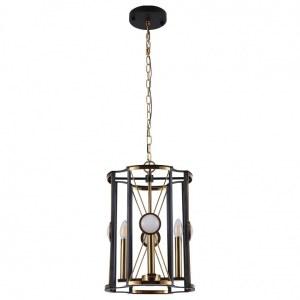 Фото 2 Подвесной светильник TANDEM SP4 D410 GOLD в стиле модерн