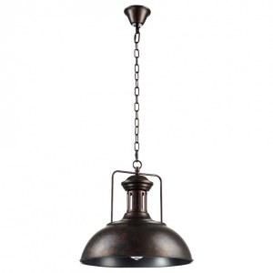 Фото 2 Подвесной светильник TOLEDO SP1 BROWN в стиле лофт