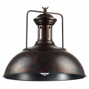 Фото 1 Подвесной светильник TOLEDO SP1 BROWN в стиле лофт