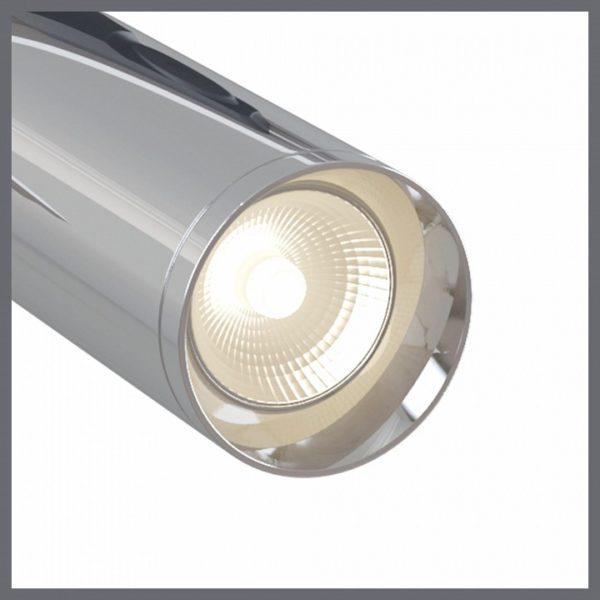 Детальное фото 1 Светильник на штанге TR004-1-GU10-CH в стиле техно