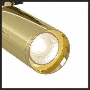 Детальное фото 1 Светильник на штанге TR004-1-GU10-G в стиле техно