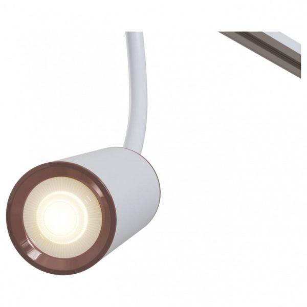 Детальное фото 1 Светильник на штанге TR010-1-GU10-W в стиле техно