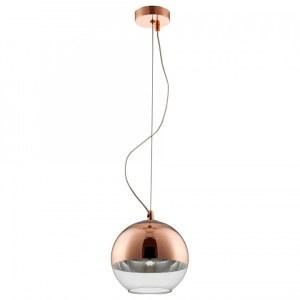 Фото 2 Подвесной светильник WOODY SP1 D200 COPPER в стиле лофт