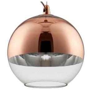 Фото 1 Подвесной светильник WOODY SP1 D200 COPPER в стиле лофт