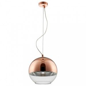 Фото 2 Подвесной светильник WOODY SP1 D300 COPPER в стиле лофт