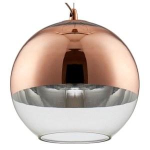 Фото 1 Подвесной светильник WOODY SP1 D300 COPPER в стиле лофт