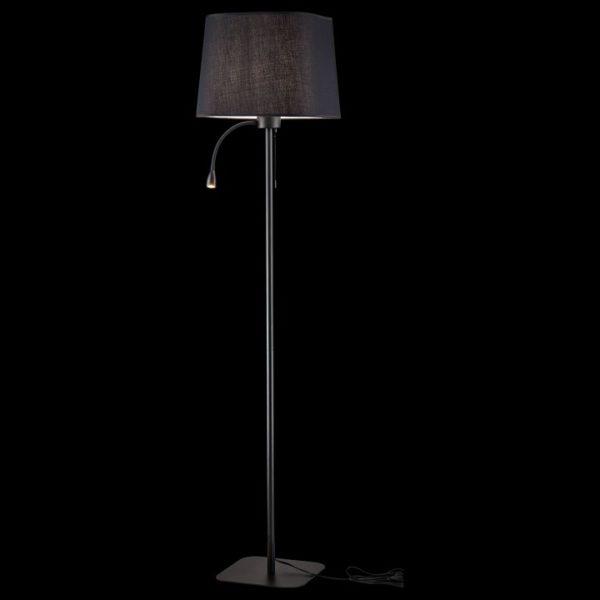 Фото 2 Торшер с подсветкой Z001FL-L3W-1B в стиле модерн
