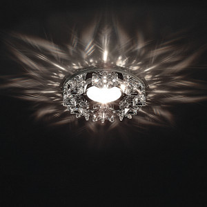 Фото 2 Встраиваемый светильник 002554 в стиле модерн