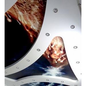 Фото в интерьере Встраиваемый светильник 011019 в стиле техно
