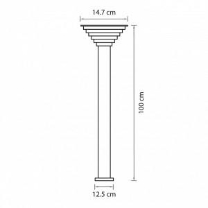 Наземный высокий светильник 379737 Lightstar