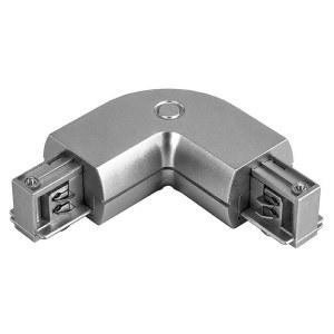 Соединитель с токопроводом угловой L-образный для треков 504129 Lightstar
