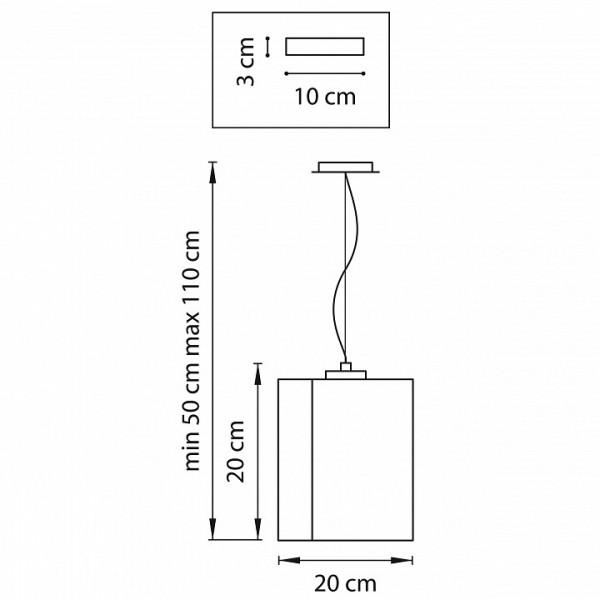 Подвесной светильник 802115 Lightstar