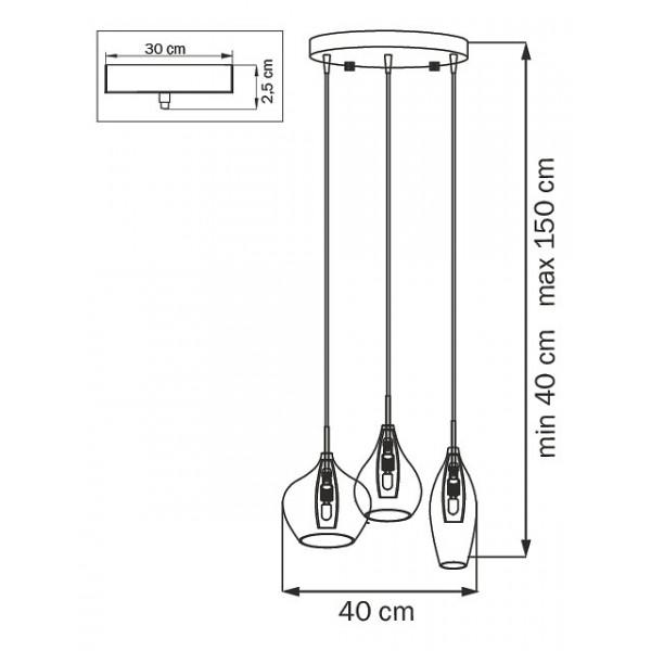 Подвесной светильник 803058 Lightstar