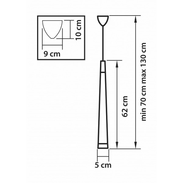 Подвесной светильник 807013 Lightstar