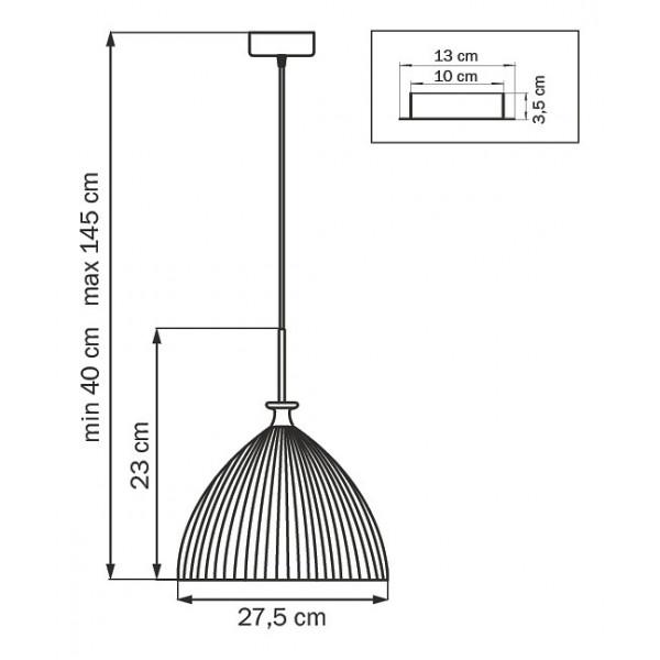 Подвесной светильник 810033 Lightstar