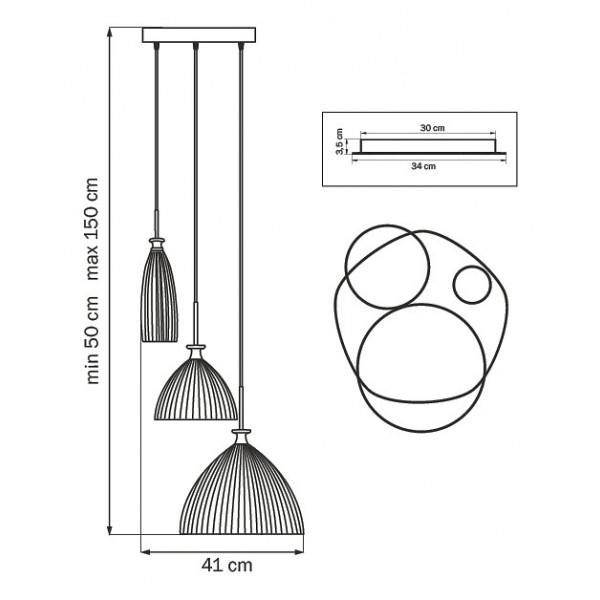 Подвесной светильник 810133 Lightstar