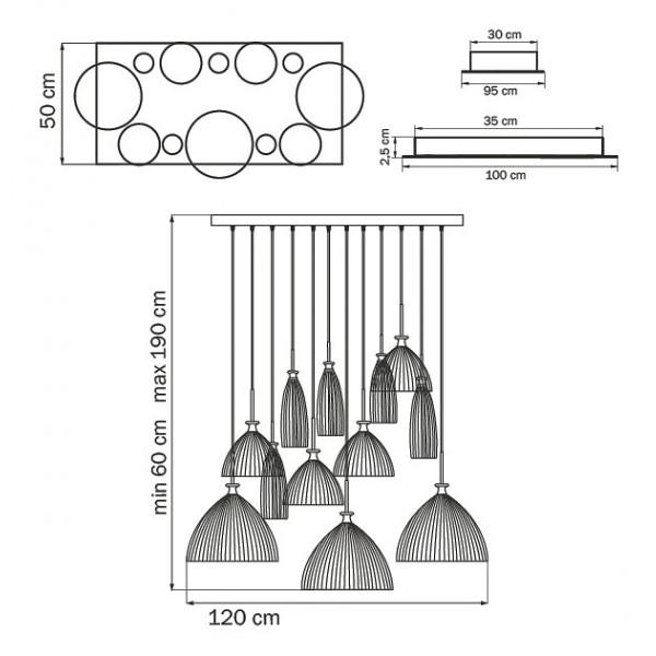 Подвесной светильник 810220 Lightstar