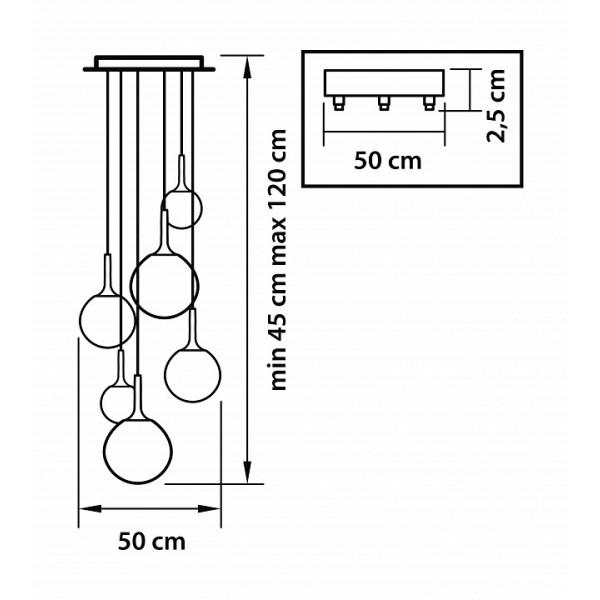 Подвесной светильник 813062 Lightstar