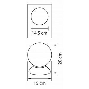 Настольная лампа декоративная 813917 Lightstar