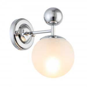 SLE106101-01 Светильник настенный Хром/Белый E27 1*60W