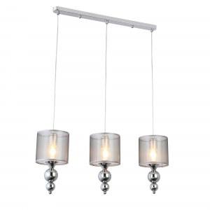 SLE107103-03 Светильник подвесной Хром/Серебристый E27 3*40W