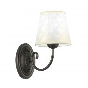 SLE120301-01 Светильник настенный Черный/Бежевый E14 1*40W