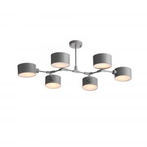 SLE183702-06 Светильник потолочный Серый/Серый E14 6*60W
