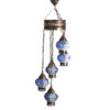 Подвесные металл + мозаичное стекло E14 5*40w